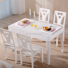 Best selling 6 seater dining table cocktail table design for sale