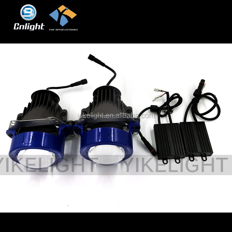 2016 Newest 15000 lumens Hi Lo Beam Emark LED Lens Retrofit Headlights replace hid canbus kits h1 h7 mini bi-xenon projector