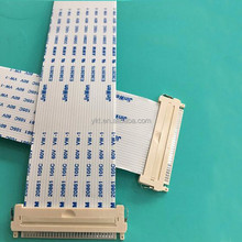 Factory Customized FPC FFC Flat Ribbon Cable , 8 Pin Flat Ribbon Cable