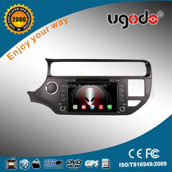ugode android car radio 1 din 16GB car dvd gps player with steering wheel control 2015 RIO