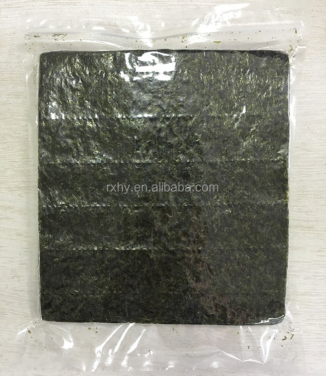 Seafood product 100 full sheets fresh roasted seaweed nori buyer