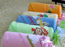 2015 new custom 100% cotton china manufacturer baby bath hooded towel for gift
