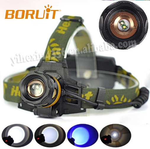 Factory Price Climping Headlamp LED Light Outdoor Sport LED Head Light