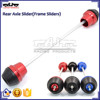 BJ-FS-YA004 For Yamaha Yzf-R3 2015 Aftermarket CNC Aluminum and 3D POM Rear Axle Slider Frame Sliders