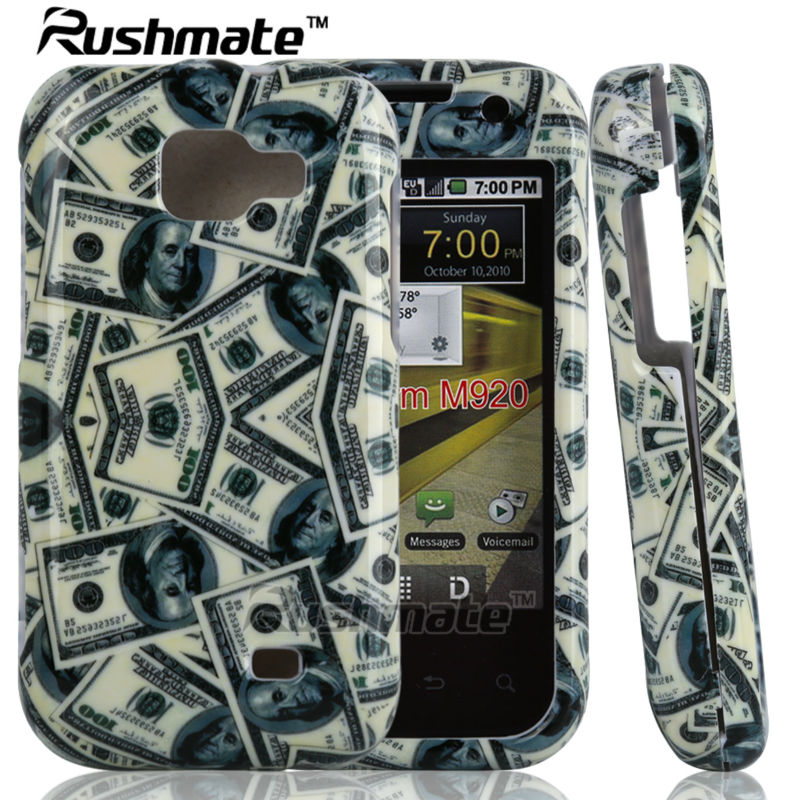 US Dollar Design Cover For Samsung Transform M920 Hard Glossy Slide Phone Case