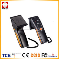 OEM small barcode UHF RFID bluetooth handheld reader for assets tracking