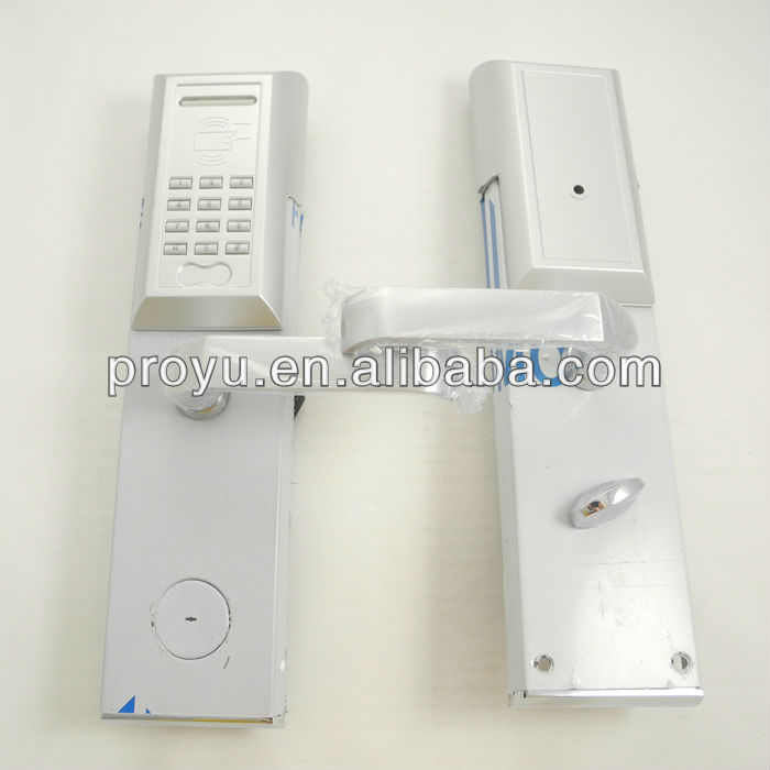 High Security Keypad Swipe Card RFID digital door lock PY-8810-Y