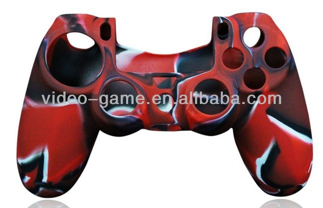 For games PS4 controller Camouflage Silicone case