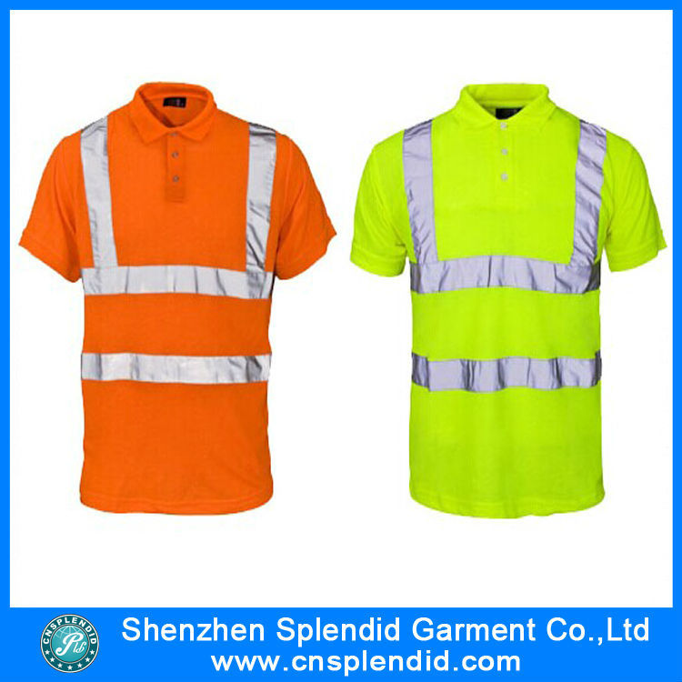Cheap High Visibility Reflective Uniform Safety Dry Fit