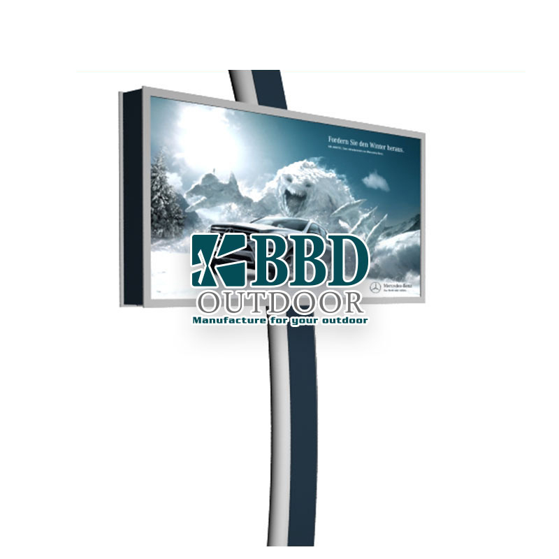 Factory price plain design China led billboard manufacturers
