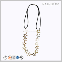 Fashion design metal star headband for women