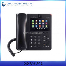 Cheap Grandstream GXV3240 IP skype video phone WIFI for Android