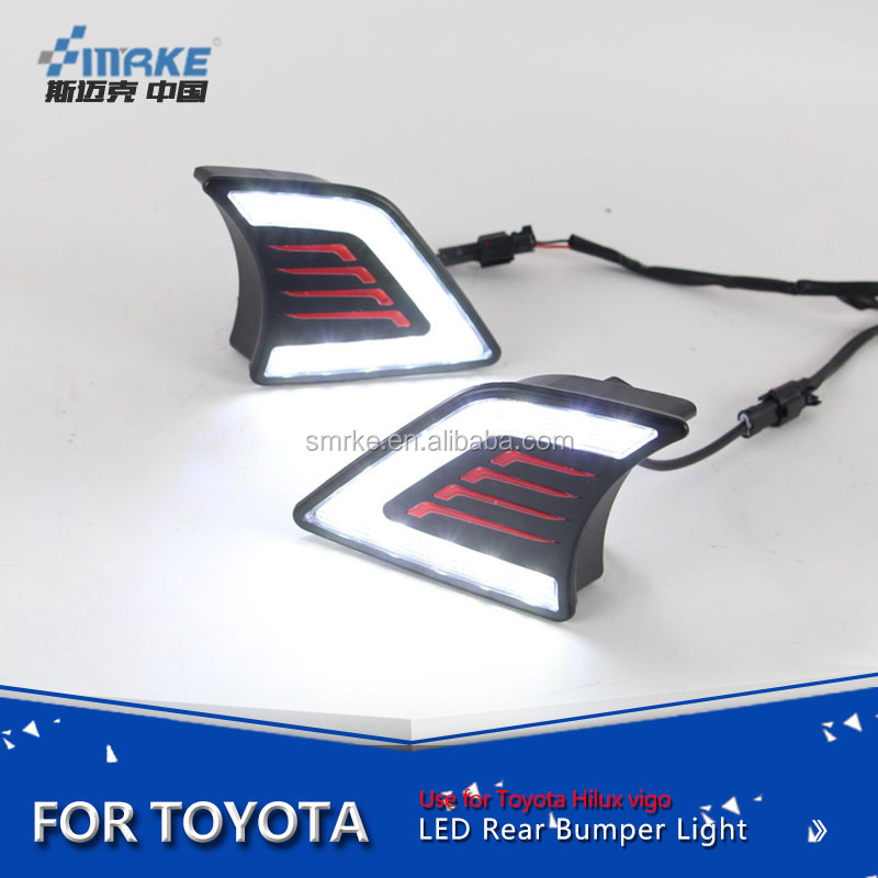 Toyota hilux vigo 2012-2015 led daytime running light, led drl for hilux vigo fog lamp
