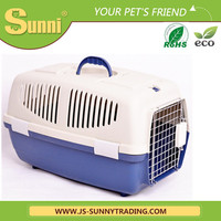 Personalise pet dog carrier plastic the kennel
