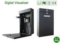 Wall-mounted/portable digital visualizer for document camera scanning