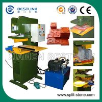 wall/paving stone pressing machine