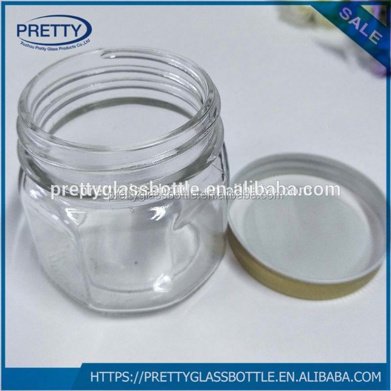 Wide mouth 12OZ 330ml glass food jar with low price