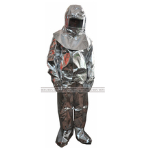 1000 Degree Aluminized Fire Fighting Suits, Heat Resistant Fire Fighting Suit