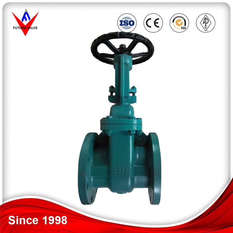 Professional Production Jis 10k ANSI Cast Iron Buried Metal Seated Gate Valve Dn100 Drawing