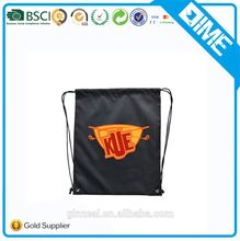 2017 Wholesale Cheap Promotional Polyester Library Drawstring Shopping Bag