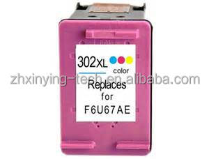 newest auto reset chip for HP printer DeskJet 1112 2130 2132 3630 3632 recyled ink cartridge 302XL