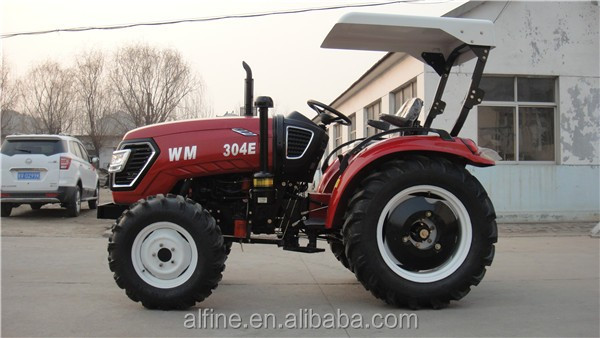 Easy operation good performance farm tractor 4wd