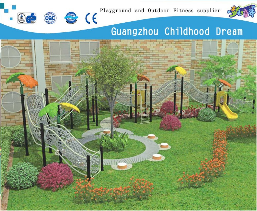 (CHD-22901 ) Children Outdoor Play System Climbing Tunnel 2015 Popular Kids Play Structure