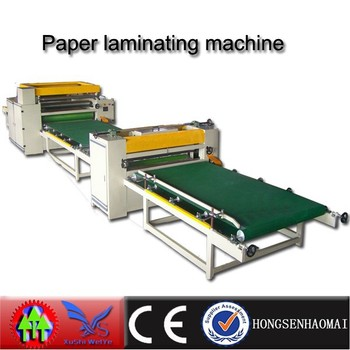 spring promotion of pvc paper laminating machine