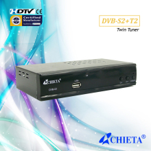 S2+T2 HD Combo Receiver with Double Tuner