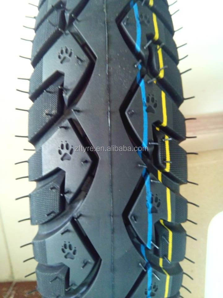 Motorcycle tire size 2.75-18 motorcycle tubeless tyre, tire in morocco