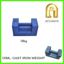 20kg cast iron weight, 1000kg test weight for crane