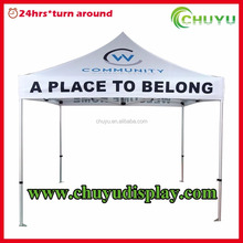 10x10ft or 3x3m Advertising Canopy Tent For Events Promotional