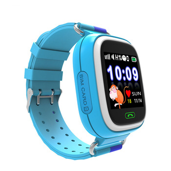 Fashionable wifi wrist watch gps tracking device for kids gps watch