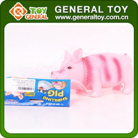 squeaky pig toy Rubber toy pig Shrilling pig
