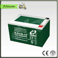6-DZM-12 smf lead acid e-bike motor battery 12V 12AH