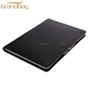classic design full grain leather A4 business document holder leather tablet clutch bag hand bag for ipad case