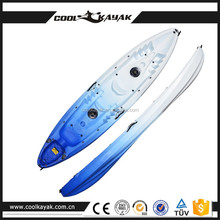 Popular Design Factory Price double sea kayaks