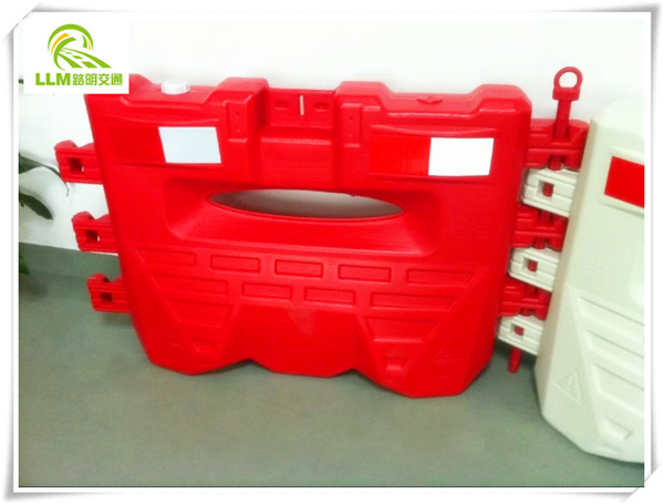 Road safety barrier durable, 2m water barricade for road
