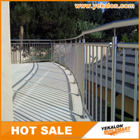 Stainless Steel Railing for Road and Staircase with pipe style