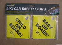 2015 Car Sign / Baby On Board Car Sign