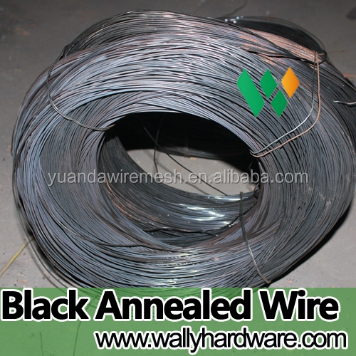 12 gauge black annealing wire iron rod, low price annealed binding wire