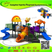 Certificated Park Used Kids Outdoor Playground Equipment 5-13L