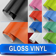 2016 Newest Arrival High Glossy Car Pvc Decorative Film