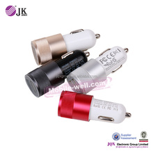 [JQX]mobile phone usb car charegr fast charging adapter