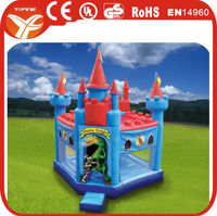 2016 princess inflatable bouncer castle/commercial brave knight bouncer