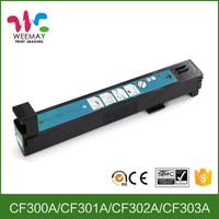 Compatible for HP CF300A CF301A CF302A CF303A color toner cartridge