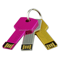 China factory price promotional gifts key usb flash drive disk