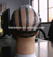 glueless lace wig cap without hair