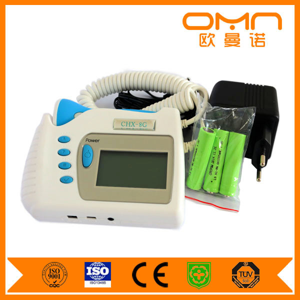 2016 Hot Sale Manufacturer Direct Selling Bluetooth Vascular Fetal Doppler with Ultrasound Gel and Probe