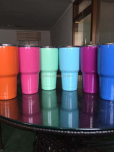 Wholesale 30oz Power Coated Tumbers Water Cups Convenient Water Hloders Drimkware taobao agent source 1688